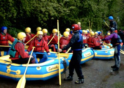 White water rafting June June 04