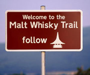 whisky traill sign